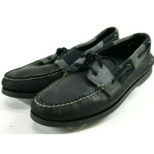 Sperry Top Sider AO 2 Eye Men's Boat Shoes Sz 8.5